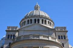 第一基督科学教堂在波士顿 免版税库存图片