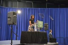 第一夫人米歇尔・奥巴马 免版税图库摄影
