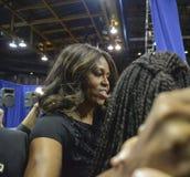 第一夫人米歇尔・奥巴马 库存照片