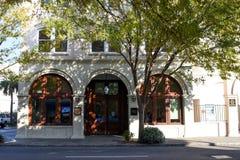 第一家公民` s银行在查尔斯顿, SC 免版税库存照片