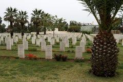 第一座世界大战公墓 免版税库存照片