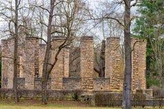 第一座世界大战纪念碑在鲁多尔斯塔特 库存照片
