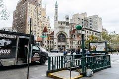 第一座施洗约翰教堂在曼哈顿 免版税库存图片