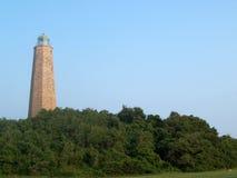 第一座着陆灯塔 免版税库存图片