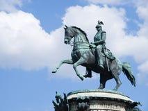第一座纪念碑nikolay 库存图片