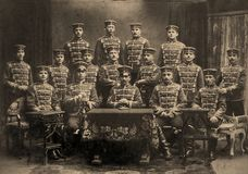 第一张世界大战照片 免版税图库摄影