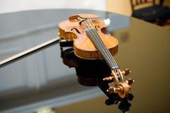 第一把小提琴 免版税库存照片