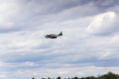 第一架操作的喷气机动力的战机Messerschmitt我262 Schwalbe飞行 库存图片