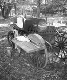 第一次世界大战的军事厨房 库存照片
