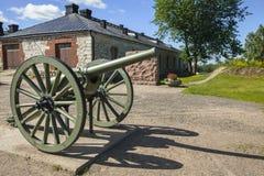 第一次世界大战的老大炮 图库摄影