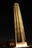 第一次世界大战1纪念和博物馆在晚上 图库摄影