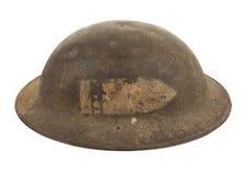 第一次世界大战U S 军队步兵盔甲 免版税库存图片