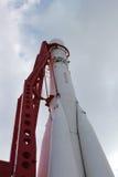 第一火箭俄语沃斯托克 免版税图库摄影