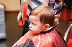 第一种发型 库存照片
