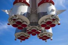 第一艘俄国太空飞船沃斯托克 免版税图库摄影