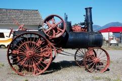 第一蒸汽引擎在蒙大拿 免版税库存照片