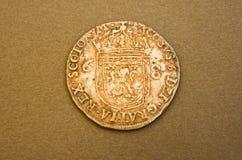 第一詹姆斯国王贵族银 库存照片