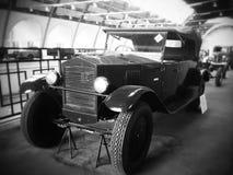 第一辆苏联汽车 免版税库存照片