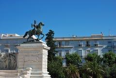 第一部西班牙宪法的记念 库存照片