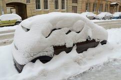 第一雪在11月 免版税库存图片
