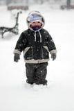 第一雪 免版税图库摄影