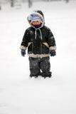 第一雪 库存照片