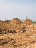 第一建筑阶段 免版税库存照片