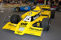第一Renault涡轮公式1 库存照片
