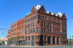 第三个国家银行大厦,西勒鸠斯,纽约,美国 免版税库存图片