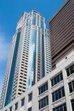 1201第三个大道塔,西雅图, WA 免版税库存图片
