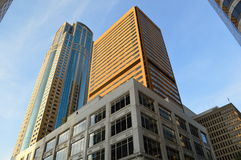 1201第三个大道大厦在西雅图 库存照片