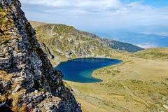 第三个Rila湖 免版税库存图片