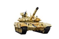 第三代俄国主战坦克T-90S 免版税图库摄影
