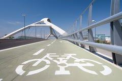 第三座千年桥梁,萨瓦格萨 图库摄影