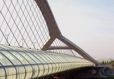 第三座千年桥梁 免版税库存图片