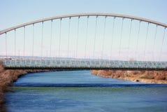 第三座千年桥梁 库存图片