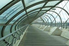 第三座千年桥梁,萨瓦格萨 库存照片