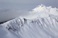 第三高峰Aigbi在高加索山脉 免版税图库摄影