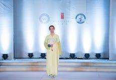 第九个系列竹踪影时尚展示 免版税图库摄影