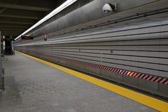 第二个大道地铁14 免版税库存照片