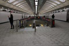 第二个大道地铁18 免版税库存图片