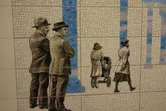第二个大道地铁23 免版税库存照片