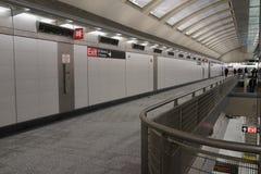 第二个大道地铁29 免版税库存照片