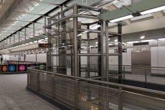 第二个大道地铁31 免版税库存照片