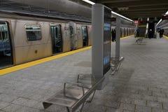 第二个大道地铁32 免版税库存图片