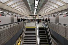 第二个大道地铁34 免版税库存照片