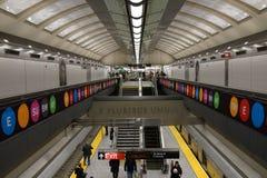 第二个大道地铁37 图库摄影