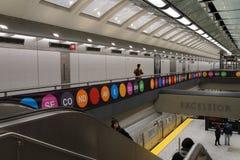 第二个大道地铁41 免版税库存图片