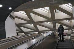 第二个大道地铁50 图库摄影