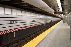 第二个大道地铁51 库存图片